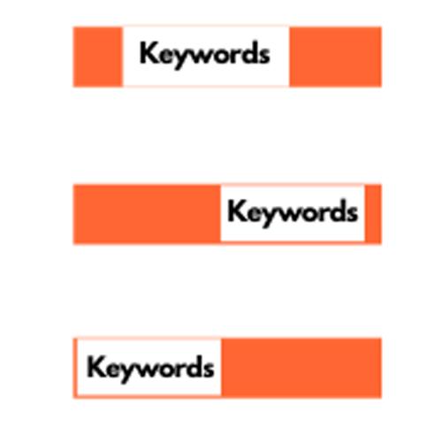 販売ページのすべてのコンポーネントへの自然なキーワードの挿入