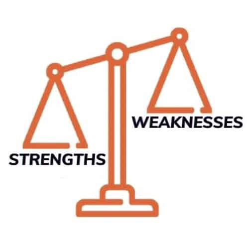 Research on Competitors' strengths and weaknesses