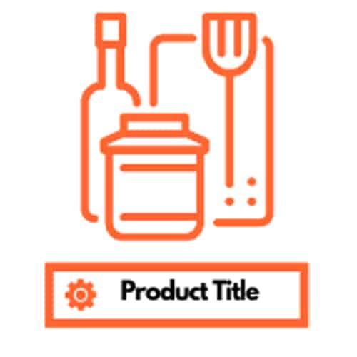 Writing and maximizing product title
